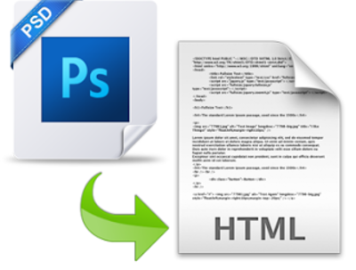 Convert your PSD, Ai, PNG to a responsive HTML web page