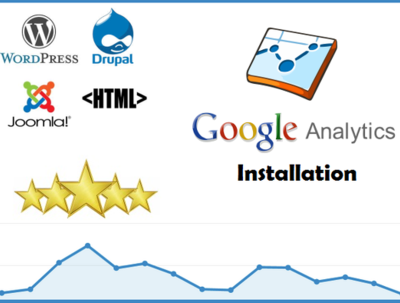Install Google Analytics & Google Webmaster Tools on any type of website