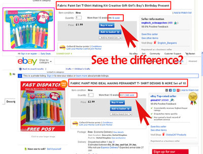 Create effective eBay title with 80 characters to boost sales