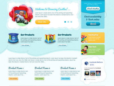 Create a brand new website landing page designing and HTML conversion