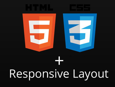 Help you to get responsive layout + HTML5/CSS3