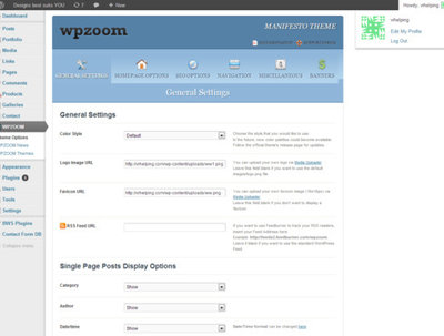 Set up Wordpress on your hosting server
