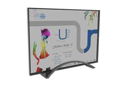 Design an acrylic product or a range of display items with product specifications