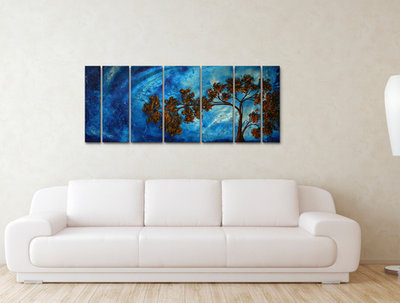 create your 50 wall arts into room settings