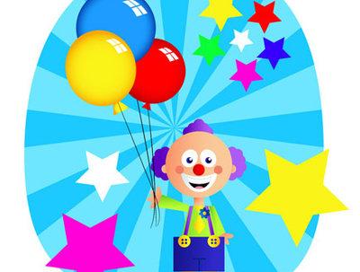 Illustrate fun, colourful and happy kiddies illustration