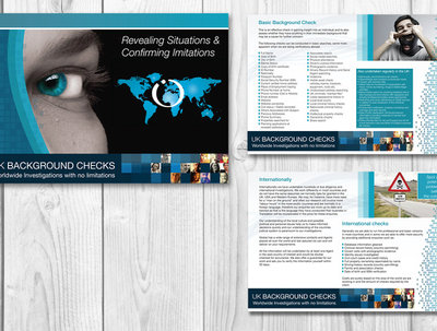 Design your 8 page brochure for print & web