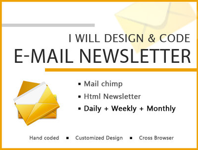 Design and code E-mail Newsletter