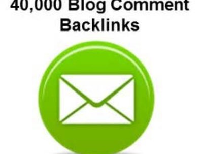 Make 40,000 blog comment seo backlinks scrapebox linkjuice