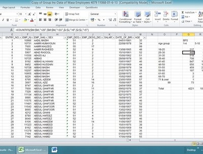 Program excel and automate operations