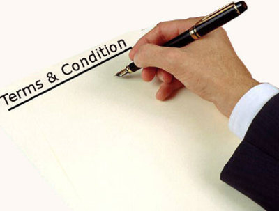 Write your website terms and conditions or privacy policy