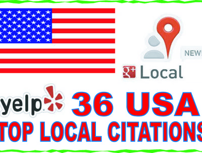 Listing  your  business details to the 36 top US citations sites
