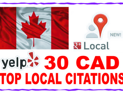 Submit your local business details to the 30 top CAD citations sites