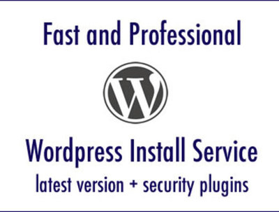 Install and secure WordPress in fast and professional way