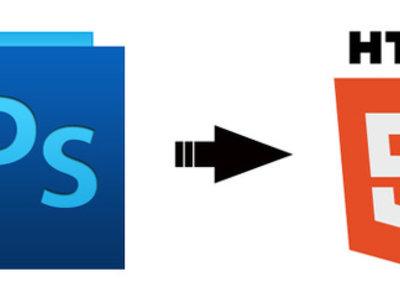 Convert PSD to HTML/HTML5