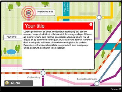 Create web, desktop or cd/dvd interactive maps