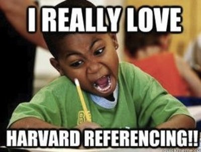 Do 10 references in the Harvard Referencing format