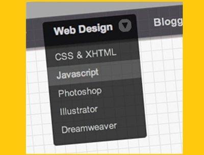 Create a dropdown menu