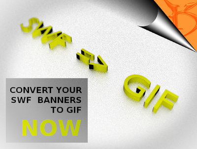 Convert your swf banners and flyers to a high quality GIF