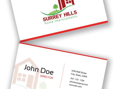 Design your corporate kit (business card, letterhead, envelope)