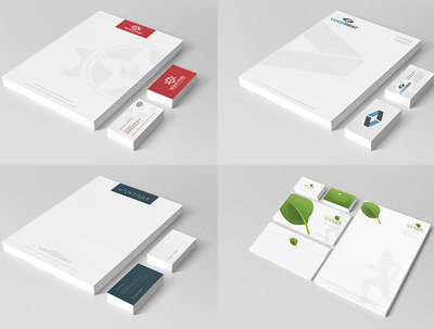 Create a unique & professional stationery set
