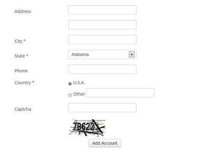 Put a captcha code in form to prevent spam leads