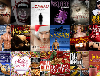 Design an eye catching eBook or Kindle cover with unlimited revisions