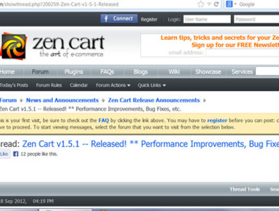 Upgrade your zen-cart store of v1.3.x to new version 1.5.6
