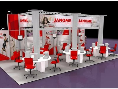 Design and render views for RMUs, Kiosks and Exhibition Stands
