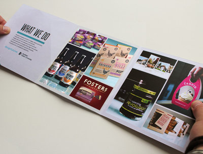 Design your A3, A4 or A5 brochure, catalouge