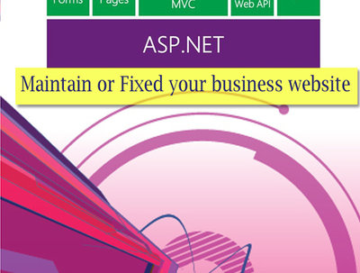 Develop 6 pages best quality responsive website in Asp.net
