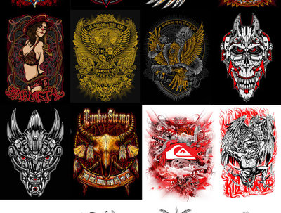 Design awesome and detail t-shirt design and concepts