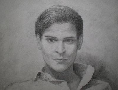 Make a charcoal portrait