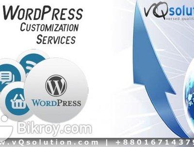 Customize wordpress theme  and also psd to wordpress