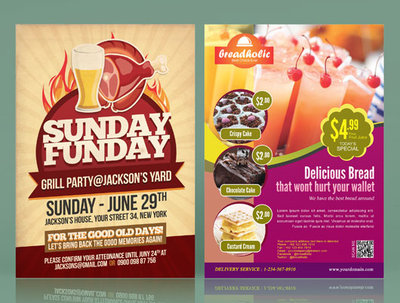 do creative eye catching flyers