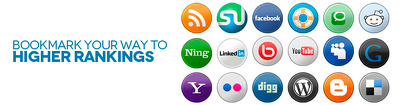 Submit 25 social bookmarking with PR6 to PR9 (Website are Mix of Do and No-follow)