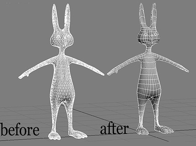 Fix , clean and retopolgy your 3d model