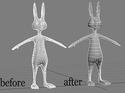 Fix , clean and retopolgy your 3d model