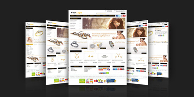 Deliver Custom jewellery eBay store/template design with live installation