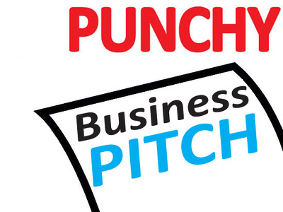Write a snappy sales pitch | make the right impression | perfect for networking