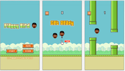 Make a custom / personalise flappy bird like PC game with Face of you