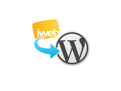 Convert iWEB based site into Wordpress
