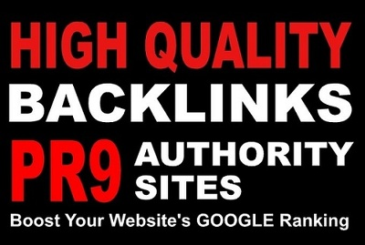 Manually create 20 PR9 backlinks from 20 different sites like BBC, Microsoft, CNN, HP