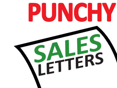 Write a punchy sales or marketing letter | boost your business