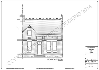 Produce planning application CAD drawings
