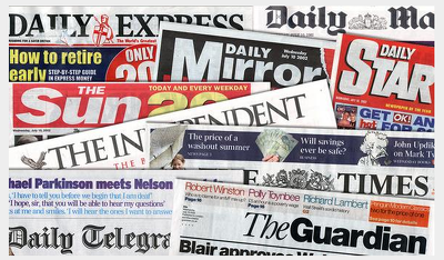 Will send your story to the top 50 UK newspapers
