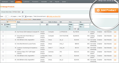Manually upload 20 products on your magento store