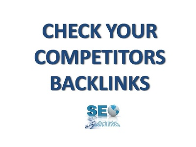 Perform SEO backlink analysis of your site and your top 3 competitors