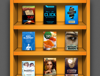 Design a stunning Book or Ebook (Kindle, Nook, Epub) cover