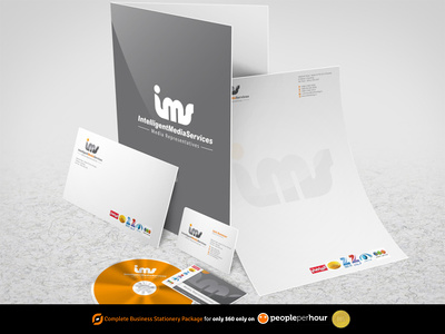 Design your  Stationery (business card+letterhead+envelope ) Limited-time offer