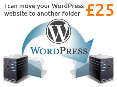 Move your WordPress website to another folder/sub-domain